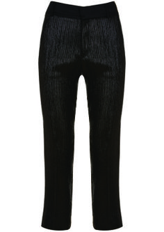 Tuxedo Lame Trousers, $130: Kate Moss for Topshop | Boca Raton Magazine
