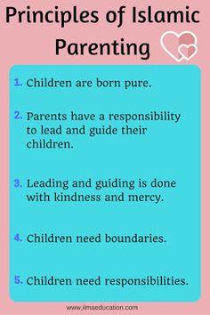 Kind parenting: principles of islamic parenting infographic parenting memes, parenting styles, parenting advice Parenting Memes, Foster Parenting, Parenting Styles, Parenting Books, Gentle Parenting, Parenting Advice, Kids And Parenting, Parenting Websites, Islam For Kids