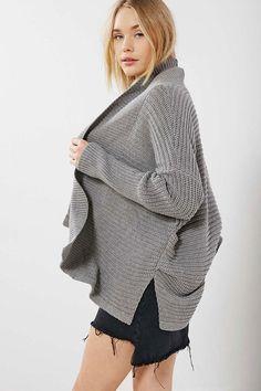 Urban Outfitters BDG Amelia Shawl-Neck Cardigan