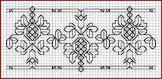 Brain Clutter: Blackwork pattern: Misc blackwork examples #9 / Catherine of Aragon