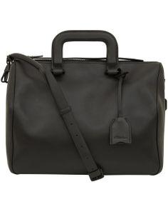 3.1 Phillip Lim Medium Black Wednesday Boston Bag | Bags by 3.1 Phillip Lim | Liberty.co.uk