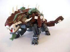 #LEGO Earth Dragon Remixed Lego Mechs, Lego Bionicle, Legos, Lego Dinosaur, Lego Dragon, Lego Sculptures, Lego For Kids, Lego Figures, Lego Worlds