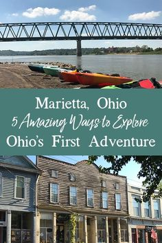 Marietta, Ohio is not only Ohio's oldest settlement but the first permanent settlement in the entire Northwest Territory. Whether you're a history buff or outdoor enthusiast, you'll find lots of ways to explore Ohio's First Adventure.