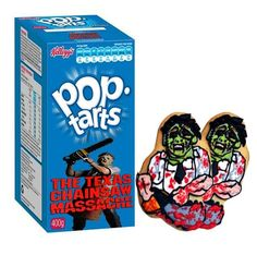 """""""The Texas Chainsaw Massacre"""" Pop-Tarts by Newt Cloninger-Clements"""