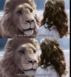 Possibly the most important line in the Narnia series. Aslan is not just a good lion. He is not an allegory of Christ. He is Christ come to Narnia in the incarnation of a Lion, just as he came to Earth in the incarnation of a man. Narnia Movies, Narnia 3, Movies Showing, Movies And Tv Shows, Citations Film, Harry Potter, Chronicles Of Narnia, The Avengers, Movie Quotes
