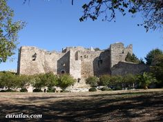 Pictures of towns and landscapes of the Greek Mainland, photo of The Castle of Patras. Patras, Cathedrals, Planet Earth, Castles, Planets, Greece, Landscape, House Styles, Mansions
