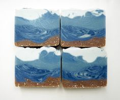 """Handmade Soap by Green Lady Creations """"Life's A Beach"""""""