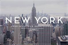 Lorsqu'on visite New York pour la première fois, on ce doit de voir les incontournables de cette ville mytique ! Découvrez également ses lieux insolites !