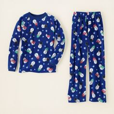 baby boy - sleep & underwear - snowman fleece pj set | Children's Clothing | Kids Clothes | The Children's Place