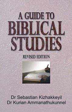 A Guide to Biblical Studies