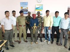 On 25 April 2017 , on specific information of source of 41 BN SSB , troops of 41 BN SSB and custom PNI Siliguri under command of SH DKSINGH second in command of 41 BN SSB laid an ambush on Kishangunj - Siliguri road and detained a person named Pulkit Rishi resident of Purnia district of Bihar   #darjeeling #idol #jalpaiguri #kishanganj #kolkata #purnia #SIliguri #SSB