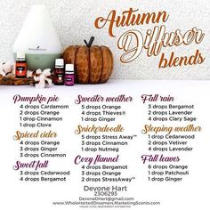 Day 3 - Fall Essential Oil Must Haves:  Ditch the toxic chemical filled sprays and candles.  Support your body and the air you breathe with essential oils.  These Autumn diffuser blends smell amazing.  Try a few or try them all. ~~~~~~~~~~ #welcomefall #fallessentialoilmusthaves #fallmusthaves #fall #autumn #thrive #essentialoils #youngliving #younglivingesssntialoils #yleo #health #wellness #wahm #gogreen #gogreenin2016 #diffuser #diffuserblend