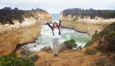 The most important kind of freedom is to be what you really are. #lochardgorge#portcampbell#victoria#greatoceanroad#australia#roadtrip#girls#camping#lowlife#backpacker#fun#happy#freedom#live#inlovewithlife#windy by ameliezink