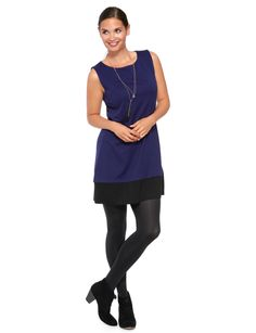 Love this tunic with a pair of ankle boots for work and play #NewandNow
