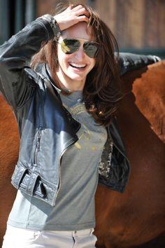 Horseware Polo S/S14: Anais jewelled tee