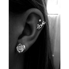 Piercings ❤ liked on Polyvore featuring jewelry, earrings, piercings, tattoos and piercings, accessories, earrings jewelry, tattoo jewelry and tattoo earrings