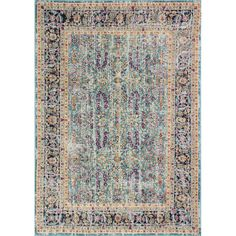 You'll love the Ashburn Teal Area Rug at Wayfair - Great Deals on all Rugs products with Free Shipping on most stuff, even the big stuff.
