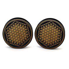 Sempiternal plugs-so wish i had gadges 00g Plugs, Ear Gauges, Ear Piercings, Ear Jewelry, Body Jewelry, Jewlery, Jewelry Box, Septum, Tapers And Plugs