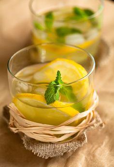 Una bebida de verano muy refrescante que se puede servir con un toque de vodka o no.