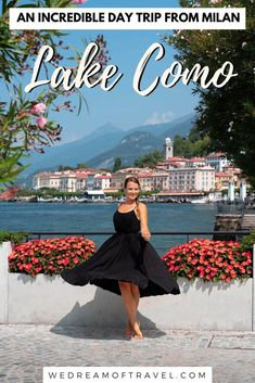 Looking to visit Lake Como from Milan for the day? This one-day itinerary will help you plan the perfect day trip from Milan to Lake Como. Travel Tips For Europe, Italy Travel Tips, Europe Destinations, Travel Info, Travel Ideas, Best Places In Italy, Things To Do In Italy, Milan Travel