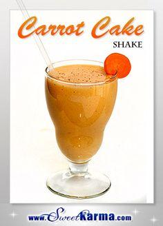 Carrot Cake ViSalus Shake
