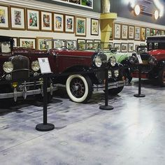20's and 30's garage @dezerautomuseum '31 Chevy 1st Gen  '30 Buick Series 60 '24 Packard Model 233 29 Cadillac LaSalle are #extremeactionpark #carphotographybyjjgarcia #bezerautomuseum #bezer #chevy #cadillac #buick #packard