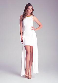 Double Length Skirt Dress @ BeBe clothing store