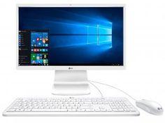 "Computador All In One LG 24V360 Intel Pentium - Windows 10 4GB 500GB LCD 23,8"" Bluetooth"
