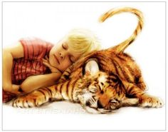 young Calvin & Hobbes