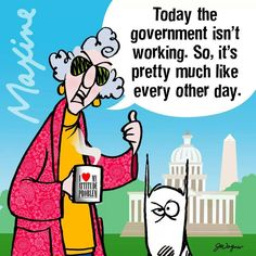 Maxine on the Government