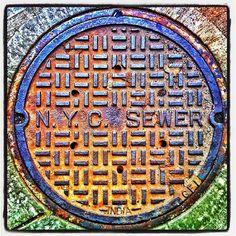 New York City, NY manhole cover