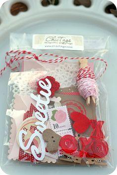 Valentine Embellishment Kit