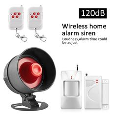 17.99$  Watch now - http://aliv29.shopchina.info/go.php?t=576900665 - Wireless loudly Alarm equipment Home Security Alarm System + 1 door sensor+2 remote control+1 pir motion detector 17.99$ #aliexpress