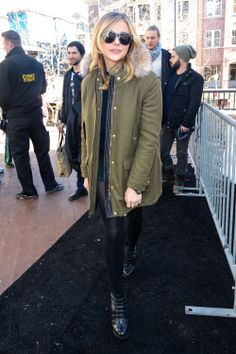 Chloë Grace Moretz street style | sundance film festival 2014   This was right after I met her! - Hannah