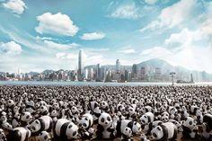 design-dautore.com: I panda invadono Hong Kong!