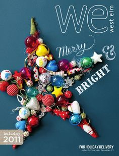 West Elm holiday guide 2011.
