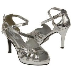 $54.99 Touch Ups by Benjamin Walk Marybeth Shoes Silver Women`s Shoes class