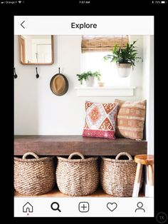 Entryway Bench, Home Office, Entrance, House, Furniture, Home Decor, Entry Bench, Hall Bench, Entryway