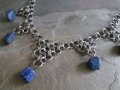 Hey, I found this really awesome Etsy listing at https://www.etsy.com/listing/79919743/chainmaille-necklace-stainless-steel