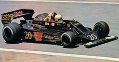 Jody Scheckter drove for Walter Wolf Racing in 1977 and 1978 winning the first ever Grand Prix that the team had competed in Nascar Race Cars, Indy Cars, Grand Prix, Scalextric Cars, Jody Scheckter, Formula 1 Car, F1 Racing, Road Racing, Vintage Racing