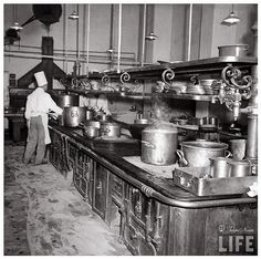 Interior of The Kitchen at Shepheard's Hotel In 1942 | Flickr - Photo Sharing!