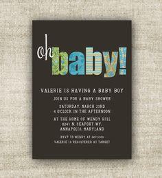 Baby shower invites?