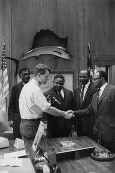 RFK and members of black community