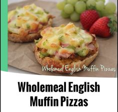 Wholemeal English Muffin Pizzas from the 4 Blades Magazine