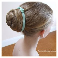 19 Best Bun accessories images | Ballet hairstyles,