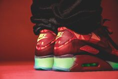 nike air max 90 ice gym red for sale