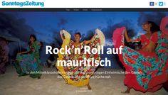 Rock'n'Roll auf mauritisch, SonntagsZeitung