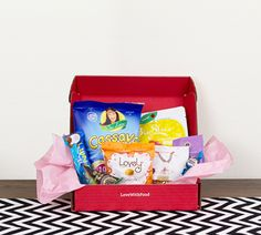 Tasting Box $9.99/month for 8+ snacks and one meal donated towards a hungry child