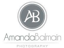 Amanda Balmain - photographer logo design