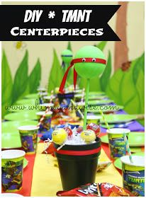 Whimsy & Wise Events: Cowabunga Dude! It's a TMNT Birthday Party!